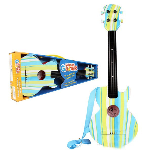 Plastic Toy Musical Instruments : Kid children early learning education musical instruments