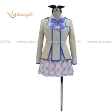 Buy Kisstyle Fashion Flag Breaks Nanami Knight Bladefield Uniform COS Clothing Cosplay Costume,Customized Accepted for $89.99 in AliExpress store