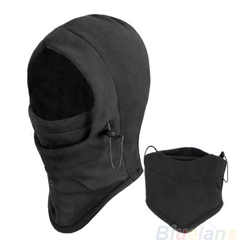 Thermal Fleece Balaclava Hood Police Swat Ski Bike Wind Winter Stopper Face Mask Skullies & Beanies 08OX - Fashion Topic store