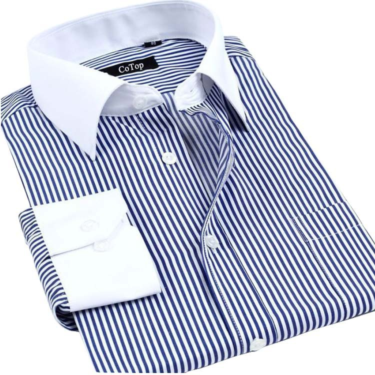 Dress Shirt With White Collar And Cuffs Name - Gowns and Dress Ideas