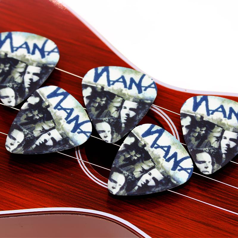 10pcs 0.71mm MANA Band two side earrings pick DIY design guitar accessries pick guitar picks(China (Mainland))
