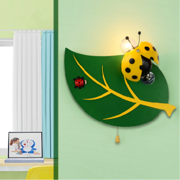 children's room wall creative cartoon bedroom bedside lamps Children led - Wendy's fashion home deco store