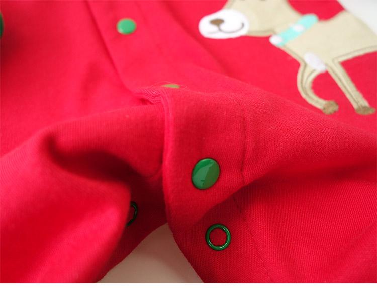 Скидки на Новорожденного Рождество Детские Спальные Мешки Чистого Хлопка Супер Мягкие Детские Пижамы Осень Зима Теплая Детская Одежда 0-2 лет