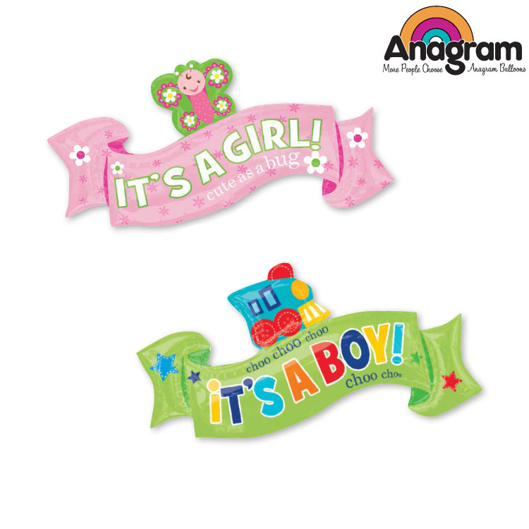 1pcs/lot Anagram Welcome Little One Boy Girl Foil Balloons Baby Shower Party Decoration Jumbo Helium Balloon Made in America.(China (Mainland))