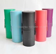 Brand pincel maquiagem 12 pcs Professional MC Makeup Brush Set, Cosmetic Make Up brushes Set With PU Storage bucket, 1 set/lot(China (Mainland))