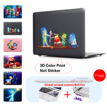 3d Print Mac Laptop Cover Case For Macbook Pro Air Retina 11 12 13 15 Notebook Sleeve bag for Apple Mac book 13.3 inch