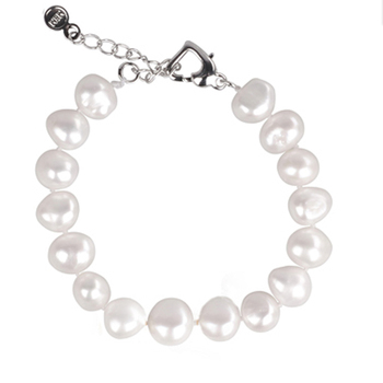 [NYMPH] pearl bracelets natural pearl jewelry baroque natural fresh water pearl bracelet for women S89