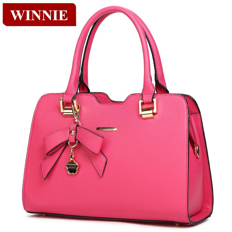 Fashion Female Package 2015 Winter Elegant Women Handbag High Quality Leather Shoulder bag Messenger Bag