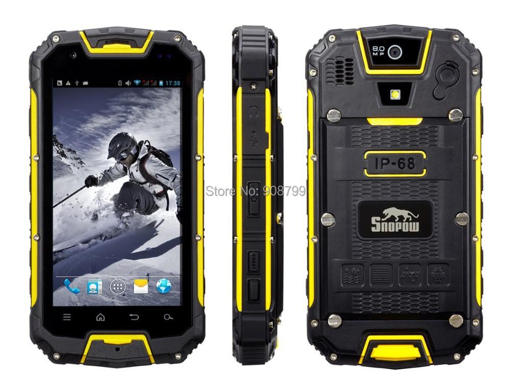Мобильный телефон Snopow M8 M8s 4.5 6589 android4.2 1 GB + 4 GB 8MP IP68 3G GPS PTT snopow m8 в магазинах ульяновска