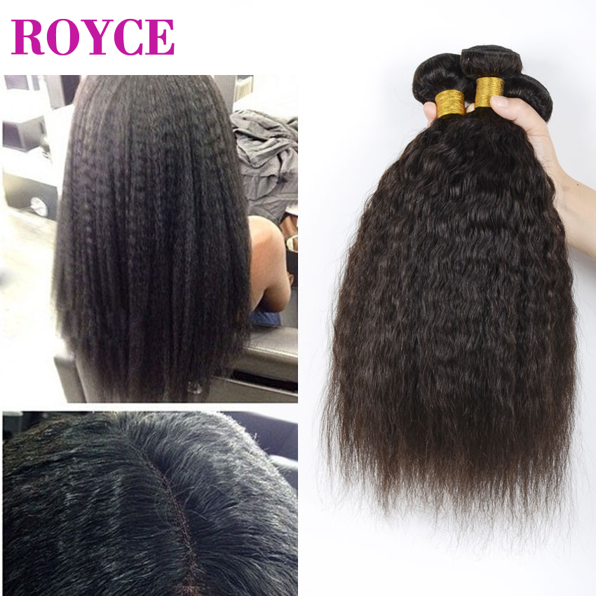 7A Unprocessed Mongolian Afro Kinky Straight Virgin Hair 3 Bundles Lot Light Italian Coarse Yaki Cheap Natural Human Hair Weaves