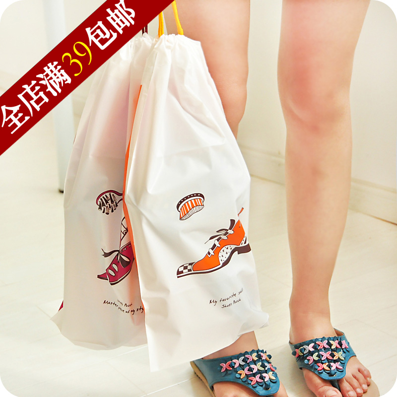 Waterproof eva eco-friendly plastic shoes travel storage bag small order bags 2(China (Mainland))