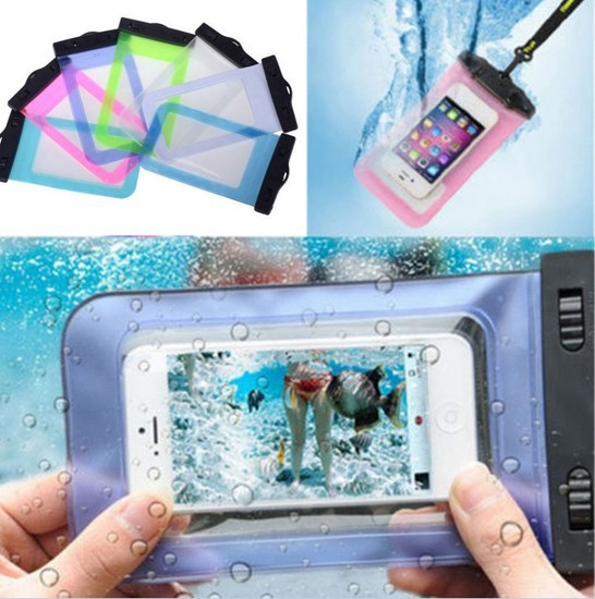 NEW Transparent Waterproof Underwater Pouch Bag Dry Case Cover For Mobile Phone(China (Mainland))