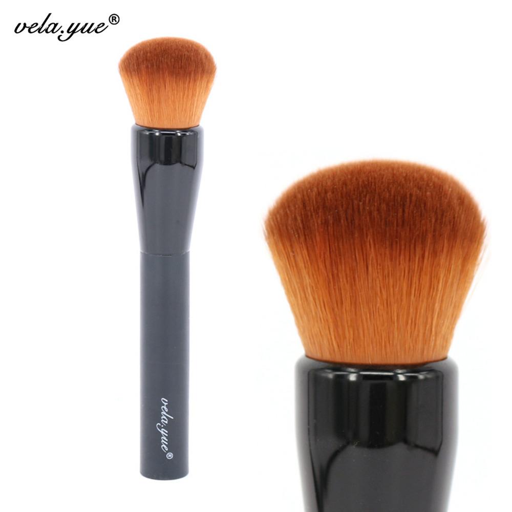 vela.yue Makeup Brush Medium Silk Finish Brush Multipurpose Powder Foundation Face Makeup Tool(Hong Kong)