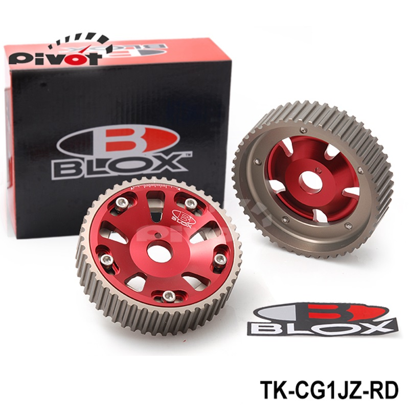 Tansky - Cam Gears for Toyota Supra 1JZ 2JZ,TE (Red,Blue) TK-CG07-Red Default Color is Red<br><br>Aliexpress