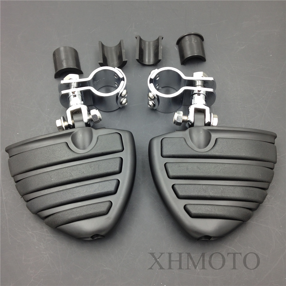 1 Highway KURYAKYN WING Front Rider Footpegs Clamps For Hond VLX DLX600 Shadow<br><br>Aliexpress