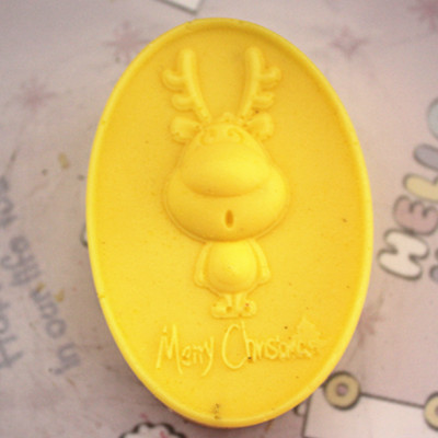 C182 soap mold/handmade soap mold/silicone mold/soap die/silica gel soap die lovely fawn(China (Mainland))