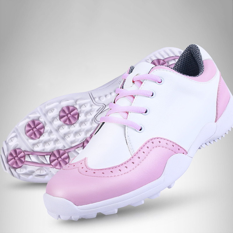 Best Selling Women Shoes Golf Shoes Non-Slip Outdoor Sneakers Comfortable Breathable Women Golf Shoes Size 34-39(China (Mainland))