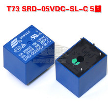 Buy 5pcs/lot Relay SRD-05VDC-SL-C 5 feet open closed 05VDC T73 10A 250VAC for $6.90 in AliExpress store