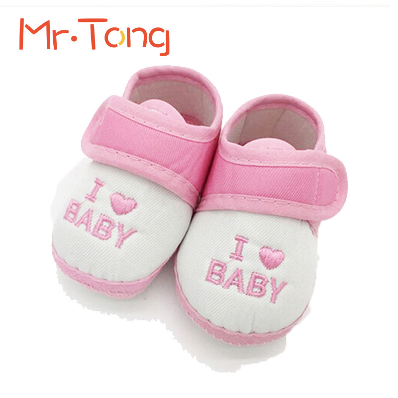 Lovely Baby Shoes Boy Girl Soft Sole Footwear Spring Autumn Infant Toddler Nonslip Cotton Kid Unisex First Walkers Shoe Big Sale(China (Mainland))