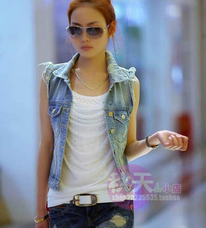 Женские жилеты из Китая