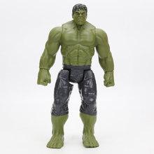2019 centímetros 29 4 Capitão Marvel the Avengers Brinquedos INFINITO GUERRA Figuras de Ação TITAN SÉRIE HERÓI Thanos Figura Collectible Modelo brinquedo(China)