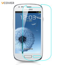 Vcover Tempered Glass For Samsung Galaxy S3 Mini S3mini I8190 GT-i8190 Screen Protector Toughened Protective Film(China (Mainland))