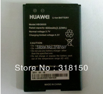 Original HUAWEI HBG6005 3.7V 600mAH Mobile Phone Li-ion Rechargeable Battery