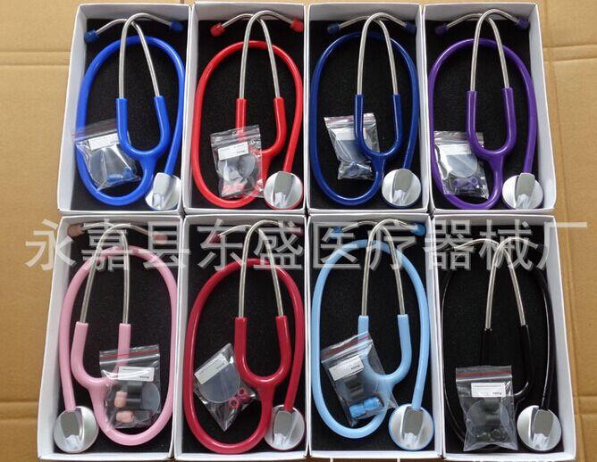 80pcs Luxurious Single Head Stethoscope(China (Mainland))