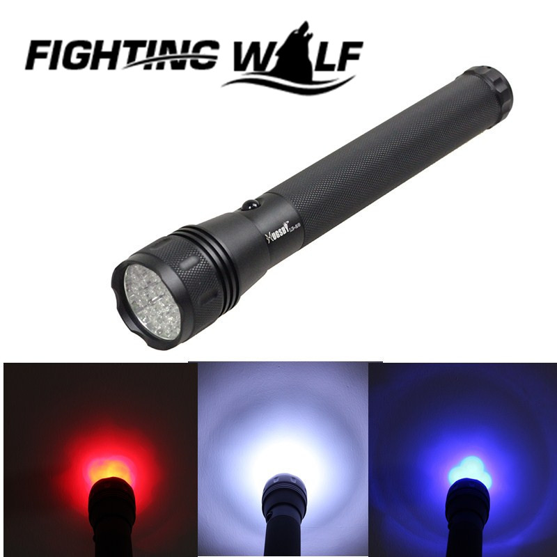 Hugsby LE-28 28 LED Tri-Color C Cell Battery LED Flashlight Tactical White Blue Red Aluminium Flashlight Torch for Camping Sport<br><br>Aliexpress