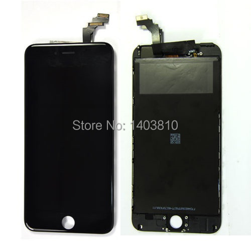Black OEM Original Front LCD Touch Display Glass Screen Digitizer Display for iPhone 6 Plus 5.5 inch Replacement(China (Mainland))