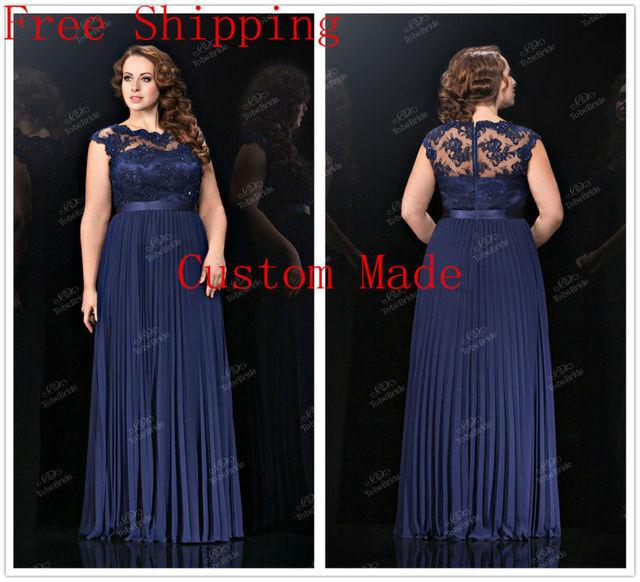 Plus size blue party dresses