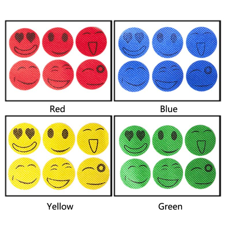 New Fashion Cute Smiling Face Summer Baby Guard Mosquito Drive Midge Stickers Repellent Protect you from insets(China (Mainland))
