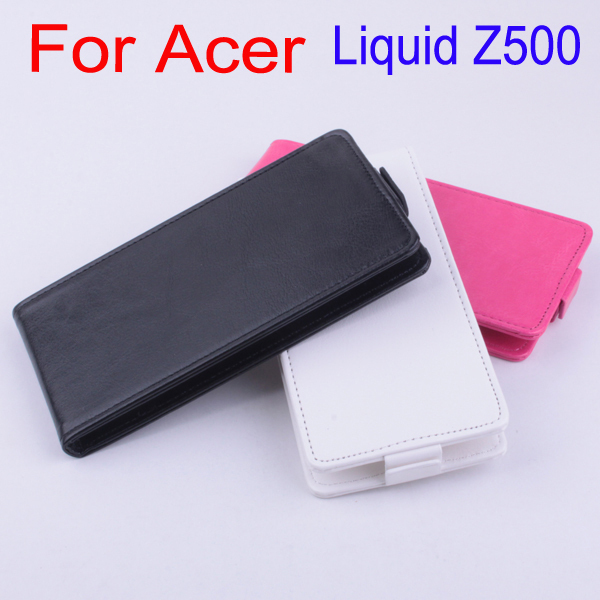 Business Old School Protector Phone Bag For Acer Liquid Z500 Z 500 Leather Flip Vertical Book Case For Acer Z500 Durable Cover(China (Mainland))
