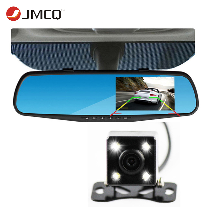 Newest Car Camera Rearview Mirror Auto Dvr Dual Lens Dash Cam Recorder Video Registrator Camcorder FHD 1080p Night Vision DVRs(China (Mainland))
