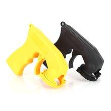 Spray Adaptor Aerosol Spray Gun Handle With Full Grip Trigger Locking Collar Car Maintenance(China (Mainland))