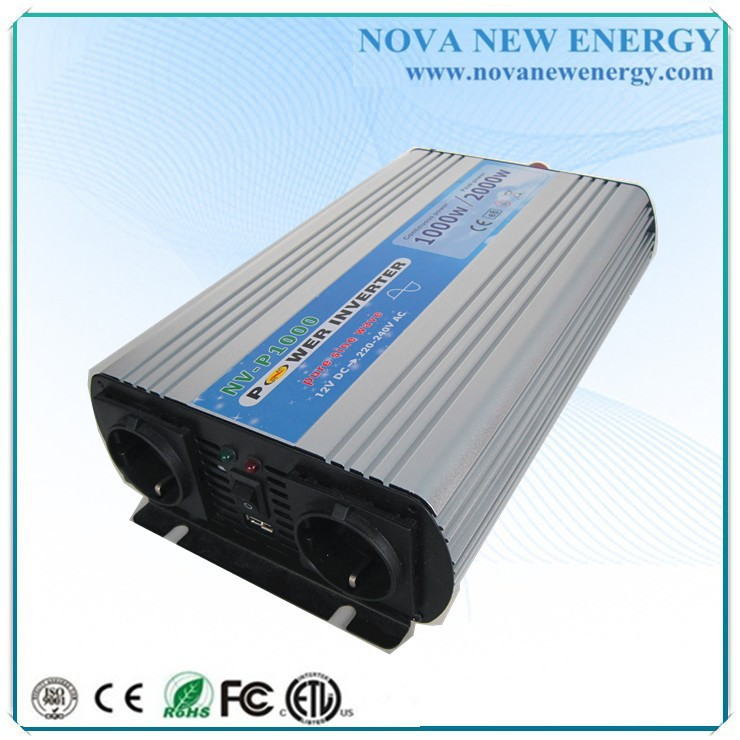 1000w pure sine wave power inverter 12v 220v for Energe use(China (Mainland))