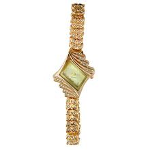 Moda nueva señora de reloj de lujo cristal de cuarzo Rhinestone pulsera 15MC