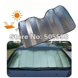Free Shipping Car Front Window Sunshade Sun Shade Cover Visor Shield(China (Mainland))