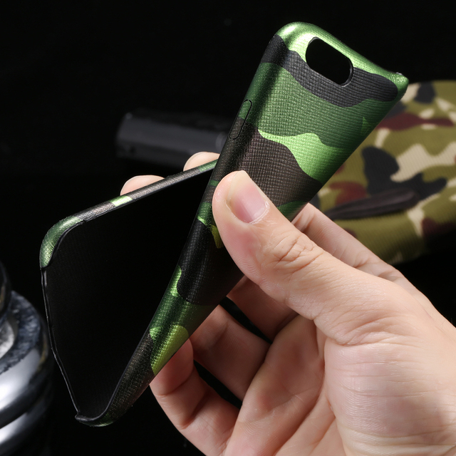 Case iPhone Military Leather 5/5S/6/6S/6Plus/7/7Plus 4 kolory