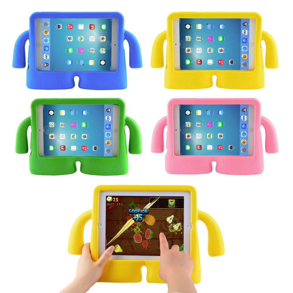 1pcs whoelsale Shockproof Kids Handle EVA Foam Case Cover For Apple for iPad Mini 2 3(China (Mainland))