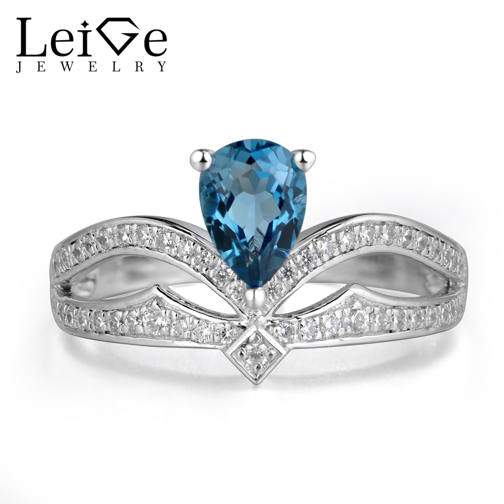 Popular Ring Blue Topaz Buy Cheap Ring Blue Topaz lots from China Ring Blue T