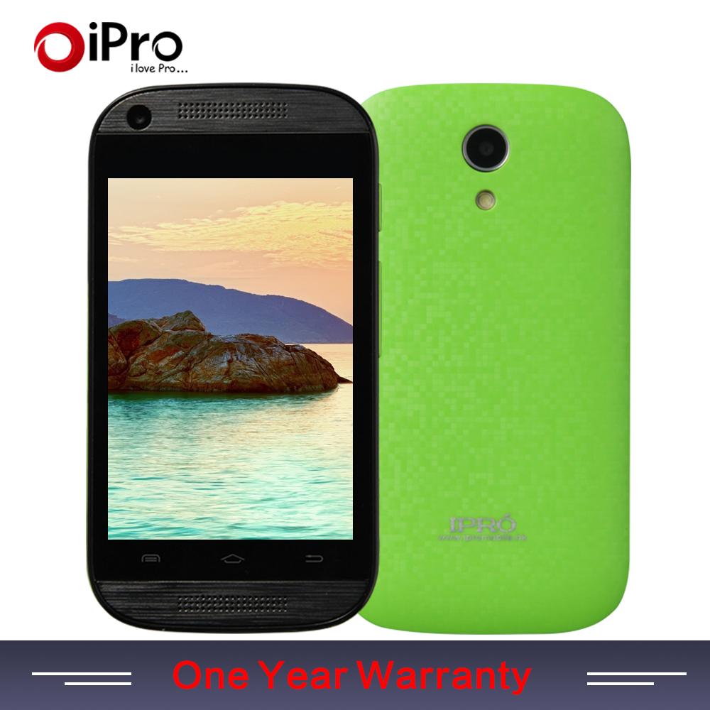 IPRO Brand Phone Fast To Russia 3G Smartphone Android 4.4 MTK6571 Dual Core Mobile Phone Ram 512M Rom 4G Dual SIM Smartphone(China (Mainland))