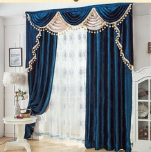 Blackout curtain with rings or hooks,free triming for different size ,1650 ,ready curtains and voile,curtain decor(China (Mainland))