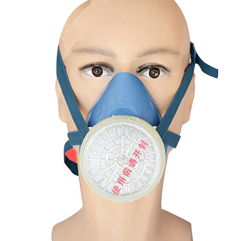 Protect Mask Anti-Dust Chemical Paint Protection Half-Mask Respirator Activated Carbon Masks Labor Respiratory Protection(China (Mainland))