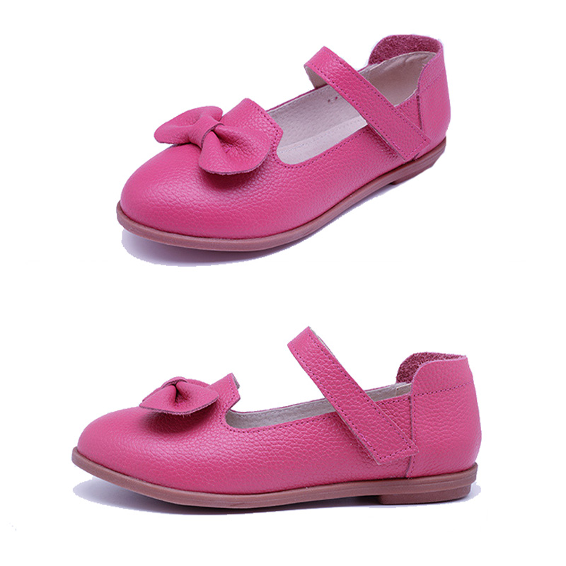 Spring High Quality Candy Color Girls Shoes Children Sandals Leather Single Shoes Kids Child girls Princess Bowtie Flat Shoes<br><br>Aliexpress