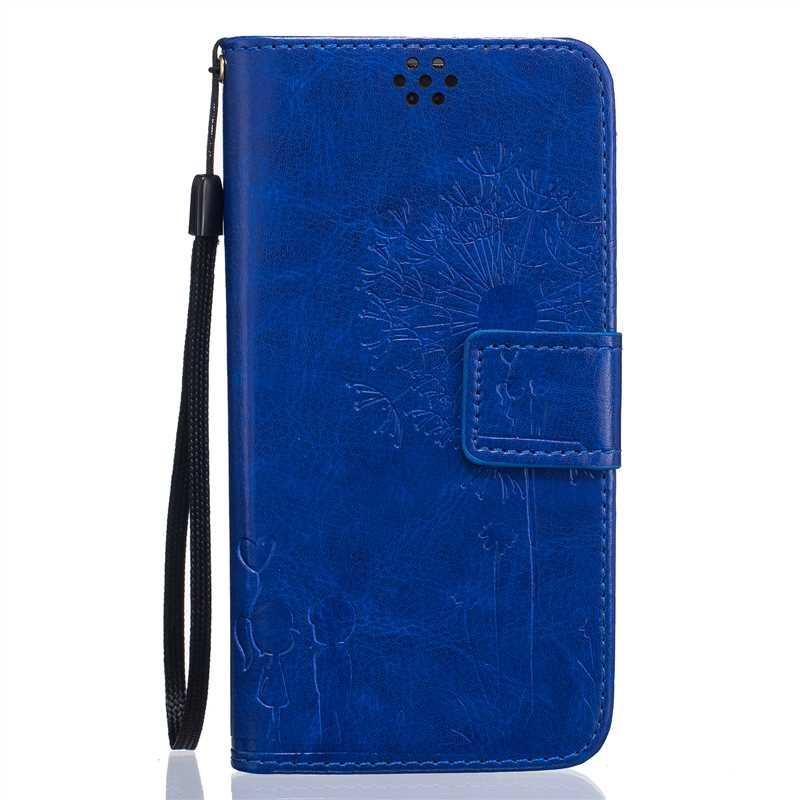 Mikoor Fashion Lovers Dandelion PU Leather 5.1For Samsung Galaxy S7 Case For Samsung Galaxy S7 G9300 G930 Cell Phone Case Cover