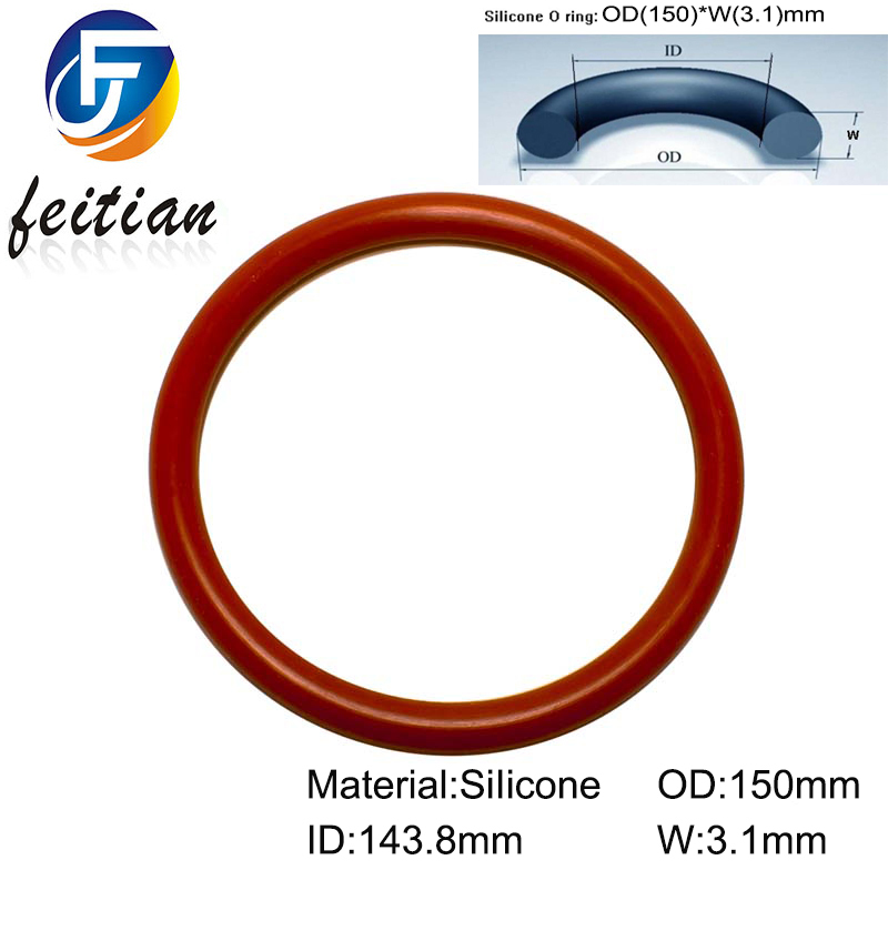 20piece size 150mm o ring seal dichtung red gasket of motorcycle part. Black Bedroom Furniture Sets. Home Design Ideas