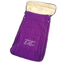 Baby Sleeping Bag for stroller Newborn Envelope sleeping bag winter thick fur linner Sleepsacks for car and Kids pram(China (Mainland))
