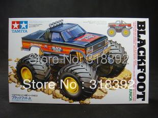 Tamiya 17002 1/32 Wild Mini 4WD Series No.2 Blackfoot Junior kit TAMIYA 1:32 Electric plastic Assembly car free shipping ho gift