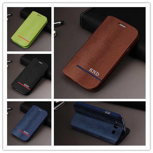Toq Quality PU Leather Cover Flip Case For Samsung Galaxy S3 I9300 SIII Moblie Phone Bag Back Cases(China (Mainland))